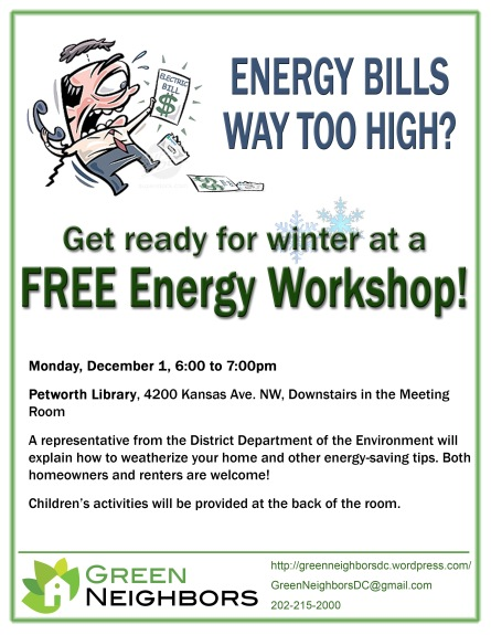 Energy Workshop Flyer