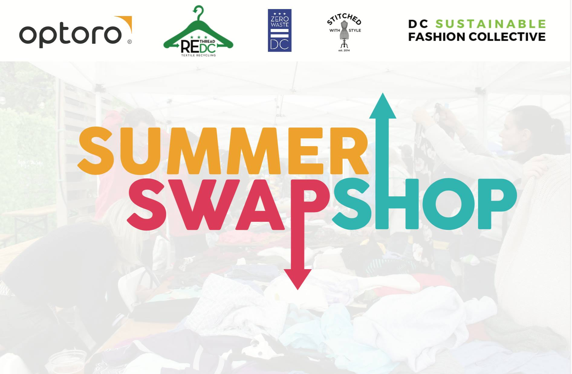 A Summer Clothing Swap and Repair Event